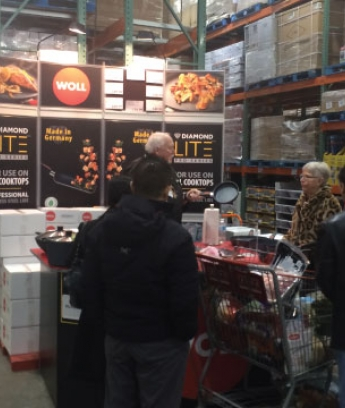 Woll Costco Demonstration